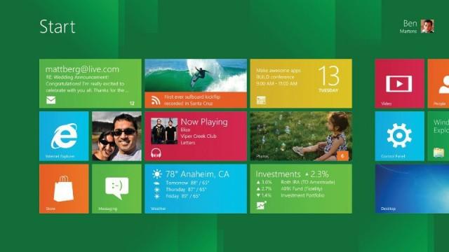 Consumer Preview — это новая бета Windows 8