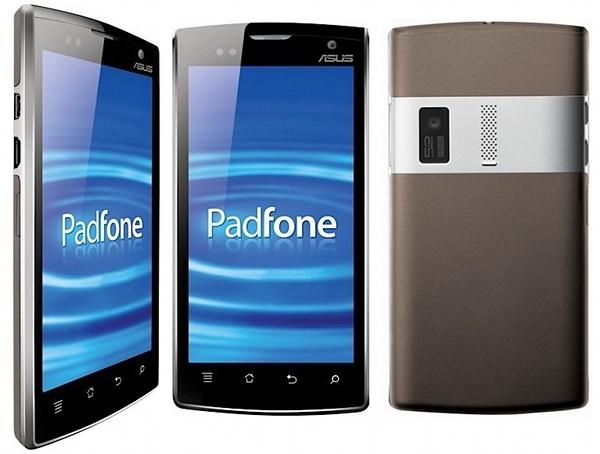 Смартфон Padfone от ASUS готов к продажам