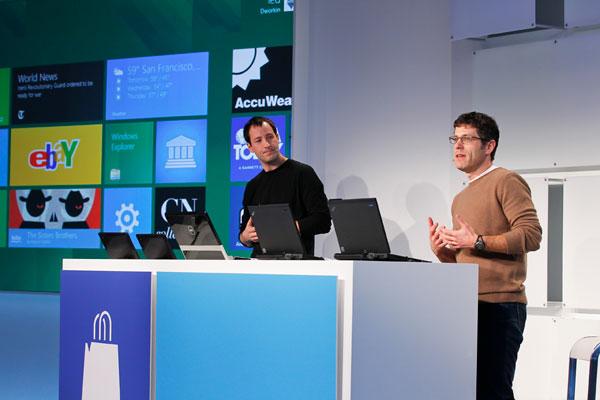 Компания  Microsoft представляет магазин Windows Store