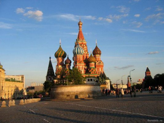 Оглянитесь: Вы в Москве!