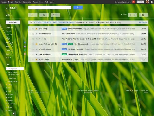 Поиск Google начал показывать почту пользователей Gmail