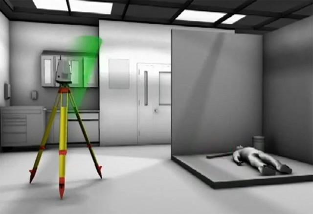 Трехмерный лазерный сканер