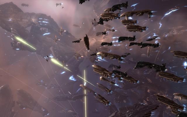 В EVE Online в звездном сражении приняли участие три тысячи пилотов