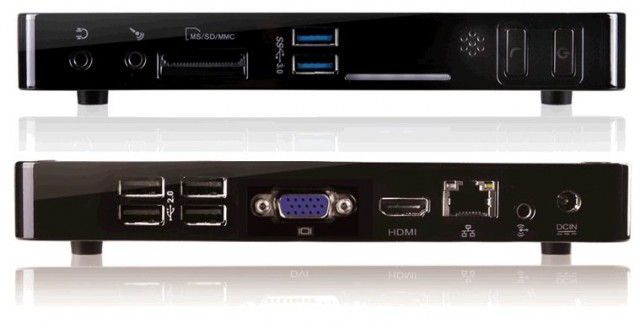 Foxconn представила линейку неттопов NanoPC 7000