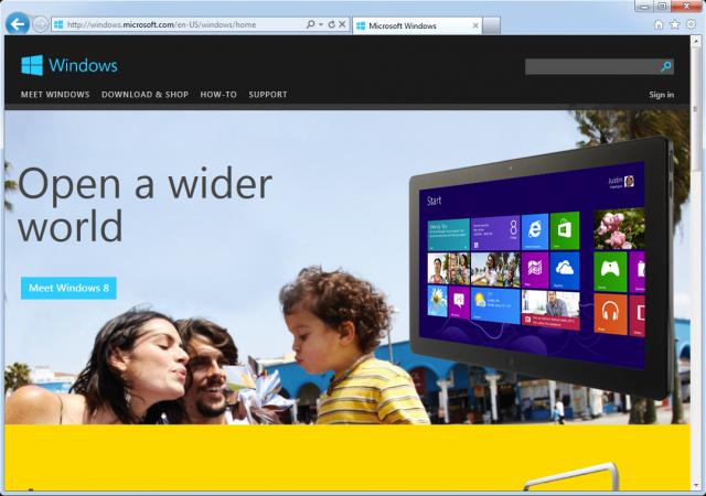 Новый «Internet Explorer» для «Windows 7»